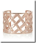 Kenneth Jay Lane Lattice Cuff
