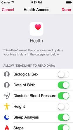 Deadline HealthKit1