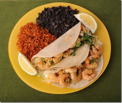 Fish Shrimp Taco
