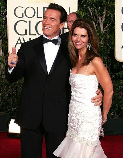 Arnold Schwarzenegger & His Ex-Wife Maria Shiver