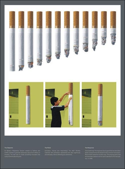 Cigaratte-Calendar