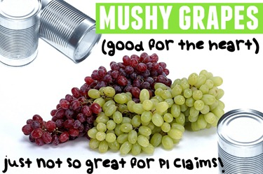 mush grapes