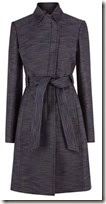 Karen Millen Denim cotton Tailored Trench Coat