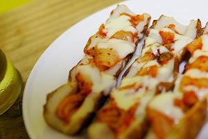 チーズキムチ竹輪