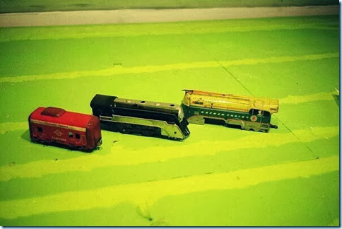 Hafner #3057 Caboose & #1010 Locomotive & #115041 Locomotiv