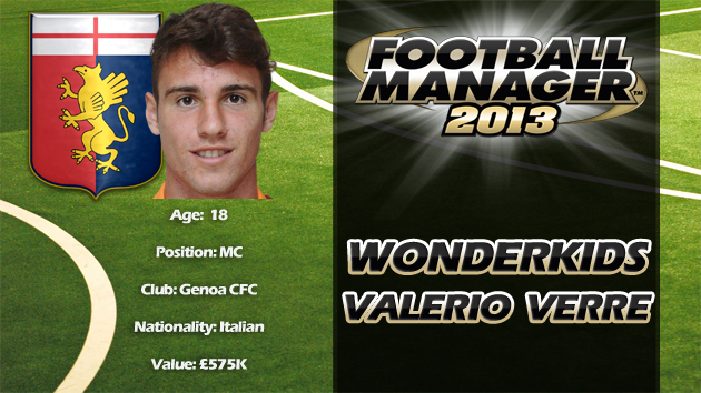 FM13 Wonderkid Review - Valerio Verre