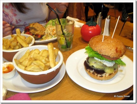 Kiwiburger at GBK in Wimbledon