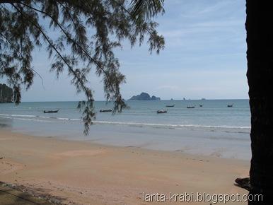 Ao Nang Beach Longail Boats