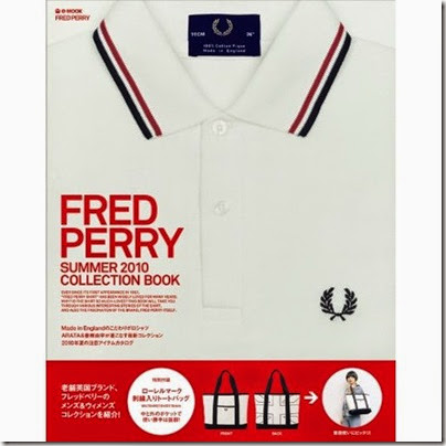 Fred Perry 2010 Summer Collection Book   Fred Perrry tote bag