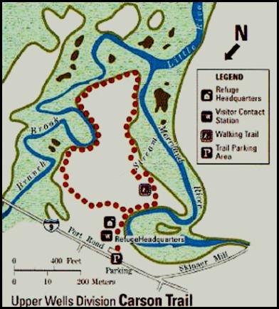02a - Rachel Carson NatureTrail Map
