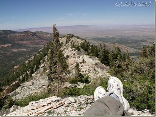 11 North Canyon, Vermilion Cliffs & House Rock Valley from Marble View Kaibab NF AZ (1024x768)