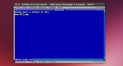 DOSBox in Ubuntu Linux