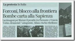 Forconi acende rebelião em Itália.Dez 2013
