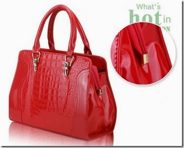 ID 6347 RED (209.000)-PU Leather, 34x24x12