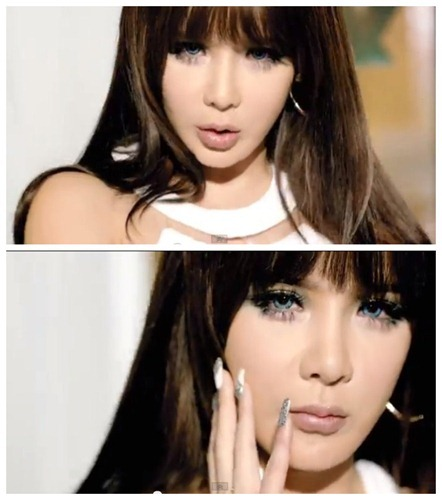 Park Bom Falling in Love makeup inspired