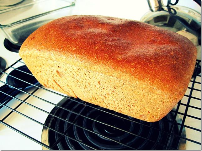clean bread