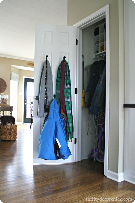 drapery tie backs coat closet
