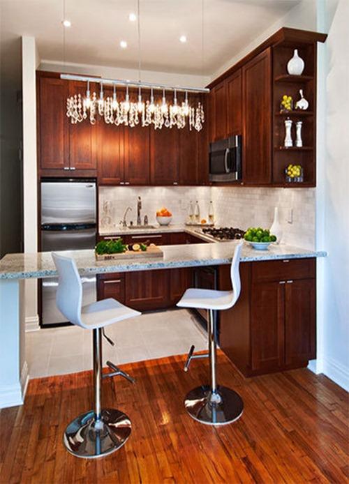 Cocinas Pequeñas   Decoracion de Interiores