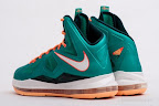 nike lebron 10 gr miami dolphins 5 07 Gallery: Nike LeBron X Miami Setting or Dolphins if you Like