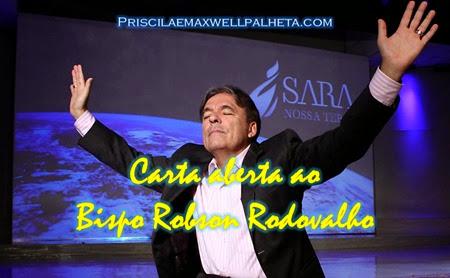 Bispo Robson Rodovalho - Priscila e Maxwell Palheta