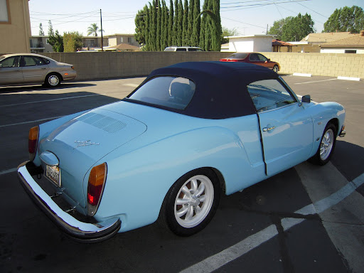 1974 Karmann Ghia Convertible