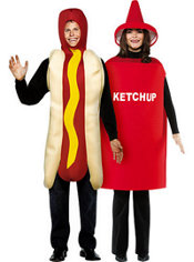Ketchup and Mustard costume