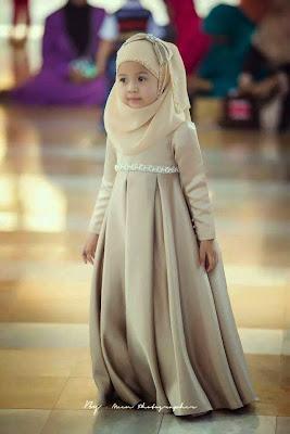 Idea baju raya anak dara tahun 2015
