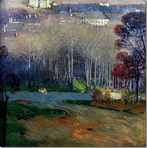 CarlMoll ViewOfHeiligenstadt 1906 DichaudCollection