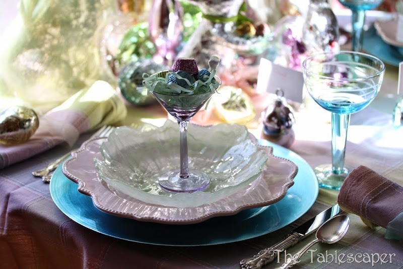 Tablescape Sparkling Easter - The Tablescaper14