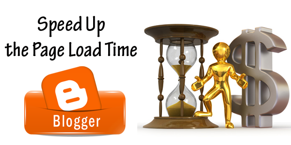 how to reduce a blogger loading time