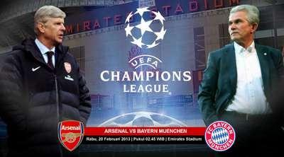 Prediksi Arsenal vs Bayern Munich
