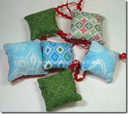 backs pillow ornaments