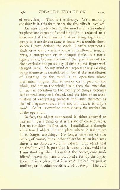 Bergson. Creative Evolution. 1911 creativeevolutio00berguof.test.t_Page_310