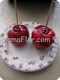 Como hacer manzanas acarameladas