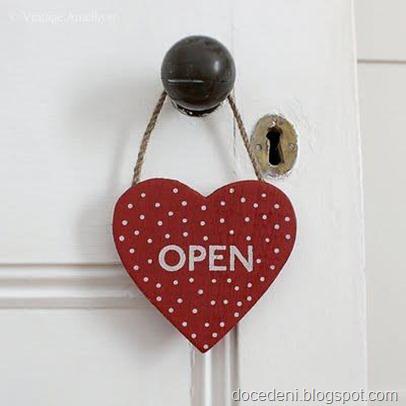 coração aberto