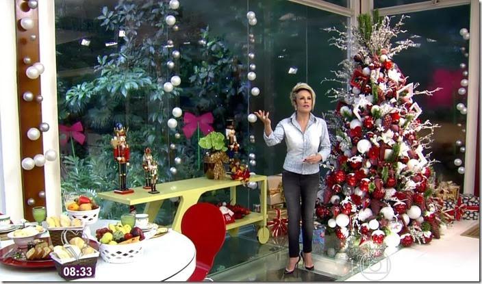 moda do programa mais você - decoração de natal 2013 a