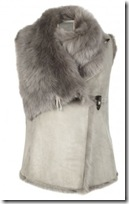 All Saints Shearling Gilet