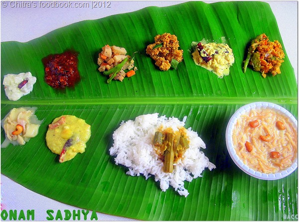 onam sadhya