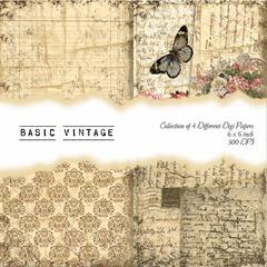 Basic Vintage Front Sheet