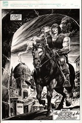 Página de Savage Sword of Conan