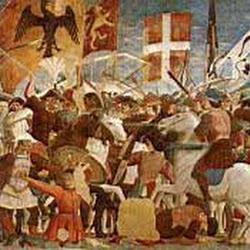 47 - Piero della Francesca - Batalla de Heraclio y Cosrroes (San Francisco de Arezzo)