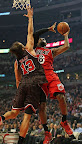 lebron james nba 130221 mia at chi 03 LeBron Debuts Prism Xs As Miami Heat Win 13th Straight