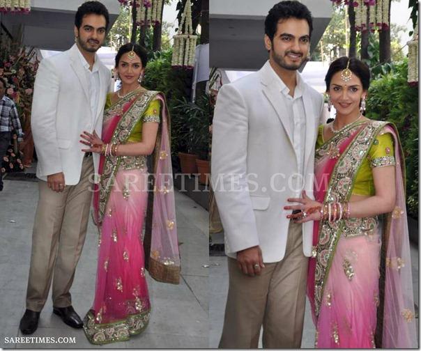 engagement saree designs sareetimes