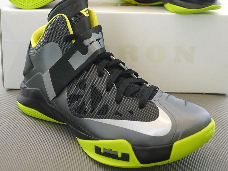 New Nike Zoom Soldier VI 8211 Cool GreyAtomic GreenBlack ... 4792ef040