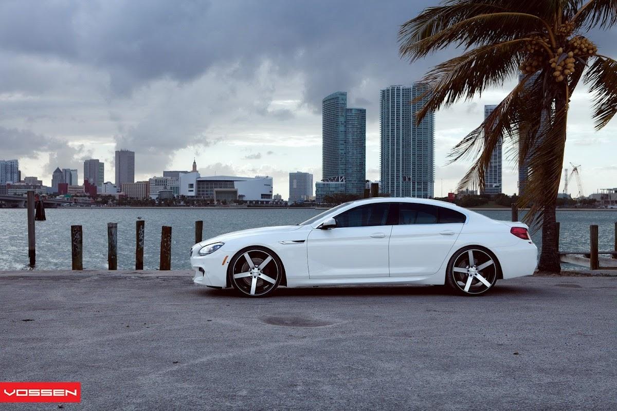 <b>BMW 6 Series</b> Gran Coupe Rocking <b>Vossen</b> Wheels