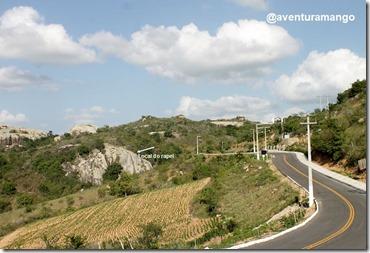 Local do Rapel na Pedra da Gameleira