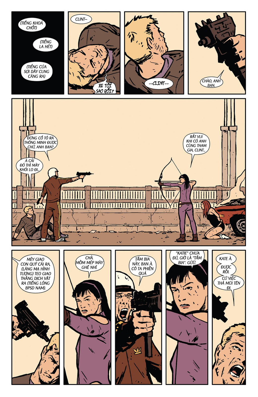 Hawkeye 2012 chap 3 - Trang 21