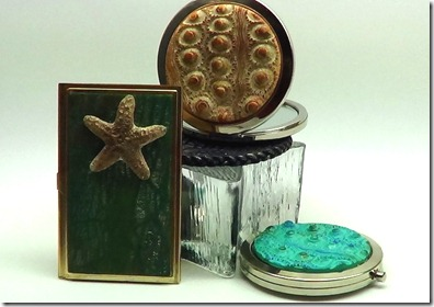 Compact Mirrors and business card holder