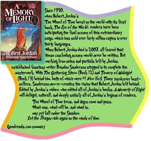 A Memory of Light by Robert Jordan and Brandon Sanderson