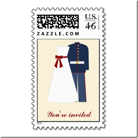Zazzle Military Theme Postage